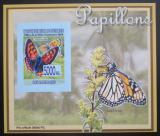 Poštovní známka Guinea 2008 Motýli DELUXE neperf. Mi# 5469 B Block