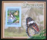 Poštovní známka Guinea 2008 Motýli DELUXE neperf. Mi# 5471 B Block