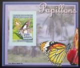 Poštovní známka Guinea 2008 Motýli DELUXE neperf. Mi# 5474 B Block