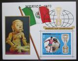 Poštovní známka Manáma 1970 MS ve fotbale přetisk Mi# Block 62 A
