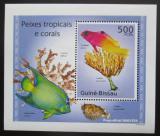 Poštovní známka Guinea-Bissau 2010 Tropické ryby a korály DELUXE Mi# 5075 Block
