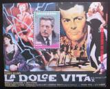 Poštovní známka Senegal 1999 Marcello Mastroianni Mi# Block 82 Kat 11€