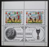 Poštovní známky Čad 1970 MS ve fotbale a LOH Mexiko Mi# 307 A Bogen