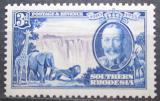 Poštovní známka Jižní Rhodésie,Zimbabwe 1935 Viktoriiny vodopády Mi# 34 Kat 9€