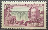 Poštovní známka Jižní Rhodésie,Zimbabwe 1935 Viktoriiny vodopády Mi# 35 Kat 12€