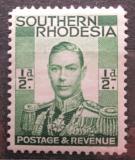 Poštovní známka Jižní Rhodésie,Zimbabwe 1937 Král Jiří VI. Mi# 42