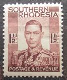 Poštovní známka Jižní Rhodésie,Zimbabwe 1937 Král Jiří VI. Mi# 44