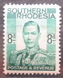 Poštovní známka Jižní Rhodésie,Zimbabwe 1937 Král Jiří VI. Mi# 47