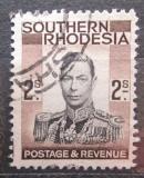 Poštovní známka Jižní Rhodésie,Zimbabwe 1937 Král Jiří VI. Mi# 52