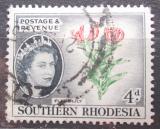 Poštovní známka Jižní Rhodésie, Zimbabwe 1953 Glorióza vznešená Mi# 84