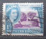 Poštovní známka Jižní Rhodésie, Zimbabwe 1953 Ruiny Zimbabwe Mi# 88