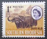 Poštovní známka Jižní Rhodésie, Zimbabwe 1964 Buvol africký Mi# 95