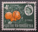 Poštovní známka Jižní Rhodésie, Zimbabwe 1964 Pomeranče Mi# 98