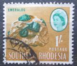 Poštovní známka Jižní Rhodésie, Zimbabwe 1964 Smaragdy Mi# 101