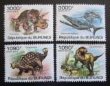 Poštovní známky Burundi 2011 Dinosauři Mi# 2102-05 Kat 9.50€