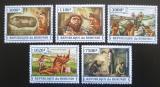 Poštovní známky Burundi 2013 Život v pravěku Mi# 3253-57 Kat 9.90€