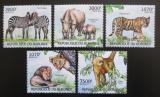 Poštovní známky Burundi 2012 Savci Mi# 2625-29 Kat 9.50€