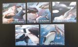 Poštovní známky Burundi 2012 Velké ryby Mi# 2595-99 Kat 9.50€