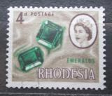 Poštovní známka Rhodésie, Zimbabwe 1966 Smaragd Mi# 27