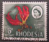 Poštovní známka Rhodésie, Zimbabwe 1966 Glorióza vznešená Mi# 28