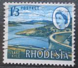 Poštovní známka Rhodésie, Zimbabwe 1966 Jezero Kyle Mi# 30
