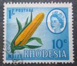 Poštovní známka Rhodésie, Zimbabwe 1968 Kukuřice přetisk Mi# 58