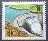 Poštovní známka Rhodésie, Zimbabwe 1973 Přehrada Kariba Mi# 130