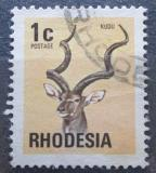 Poštovní známka Rhodésie, Zimbabwe 1974 Kudu velký Mi# 140