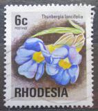 Poštovní známka Rhodésie, Zimbabwe 1974 Thunbergia lancifolia Mi# 145