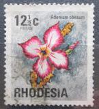 Poštovní známka Rhodésie, Zimbabwe 1974 Adénium ztloustlé Mi# 148