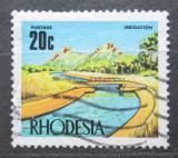 Poštovní známka Rhodésie, Zimbabwe 1970 Zavlažovací kanál Mi# 97