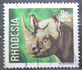 Poštovní známka Rhodésie, Zimbabwe 1978 Nosorožec Mi# 211