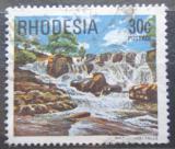 Poštovní známka Rhodésie, Zimbabwe 1978 Vodopády Inyangombi Mi# 218