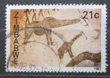 Poštovní známka Zimbabwe 1982 Skalní malba Mi# 262