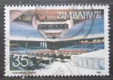 Poštovní známka Zimbabwe 1986 Konferenční sál v Harare Mi# 339