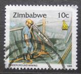 Poštovní známka Zimbabwe 1995 Těžba zlata Mi# 543