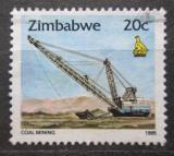 Poštovní známka Zimbabwe 1995 Těžba uhlí Mi# 544