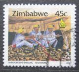Poštovní známka Zimbabwe 1996 Demoliční četa Mi# 578