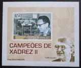 Poštovní známka Guinea-Bissau 2008 Mistři světa v šachu DELUXE Mi# 3798 B Block