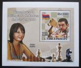 Poštovní známka Svatý Tomáš 2009 Šachová olympiáda v Drážďanech Mi# 4140 Block