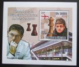 Poštovní známka Svatý Tomáš 2009 Šachová olympiáda v Drážďanech Mi# 4142 Block