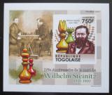 Poštovní známka Togo 2011 Wilhelm Steinitz neperf. Mi# 4009 B Block