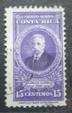 Poštovní známka Kostarika 1948 Prezident Carlos Durán Cartín Mi# 314