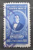 Poštovní známka Kostarika 1943 Prezident Francisco M. Oreamuno Bonilla Mi# 324