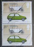Poštovní známky Velká Británie 1982 Starý a moderní Austin pár Mi# 929