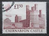 Poštovní známka Velká Británie 1988 Hrad Caernarfon Mi# 1175