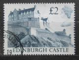 Poštovní známka Velká Británie 1988 Hrad Edinburgh Mi# 1176