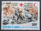 Poštovní známka Džibutsko 1984 Červený kříž, 120. výročí Mi# 412 Kat 3.50€
