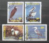 Poštovní známky Džibutsko 1991 Ptáci Mi# 549-52