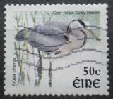 Poštovní známka Irsko 2002 Volavka popelavá Mi# 1392 A
